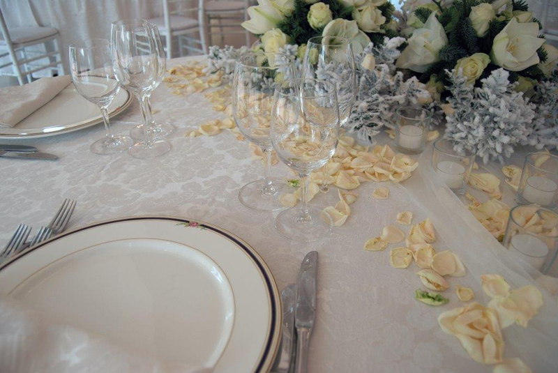 Wedding - Particolare di mise en place