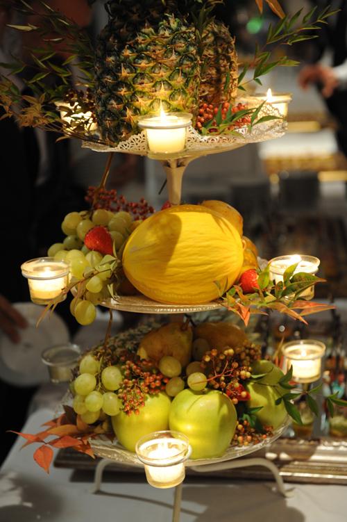 Wedding - Composizione di frutta