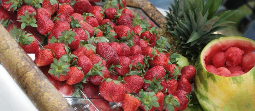 Banqueting - Composizione di frutta