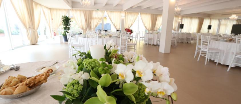 Wedding - Particolare di una tavola