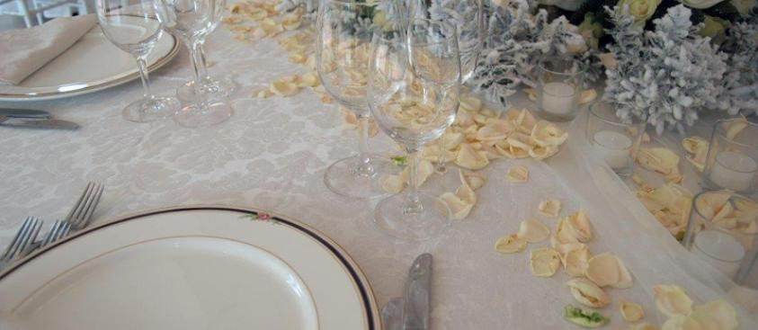 Wedding - Particolare di mise en place